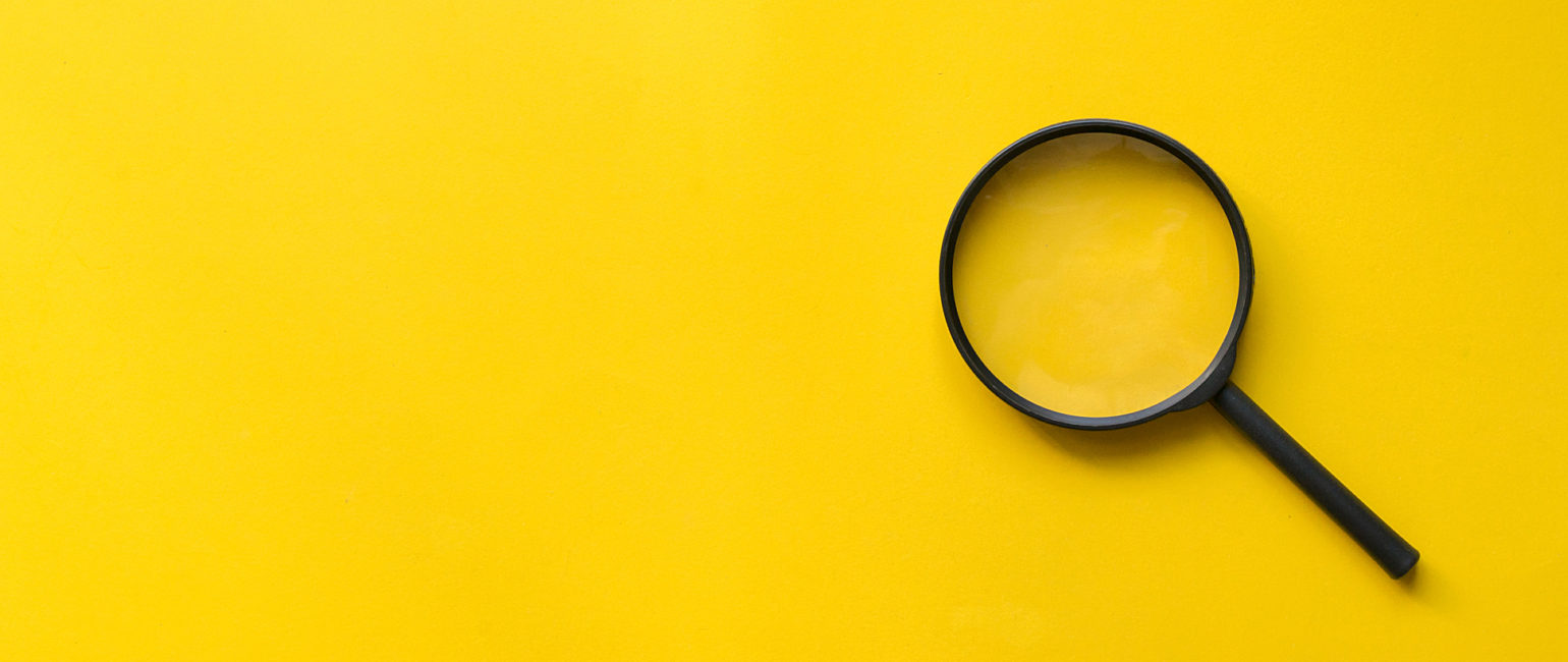 Yellow Magnify Glass