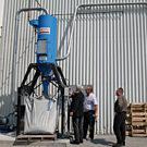 DuroVac Industrial Vacuum on Site