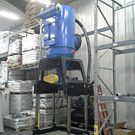 An ELEVATOR Series, Model EL25, fully NFPA-compliant, for feed mill