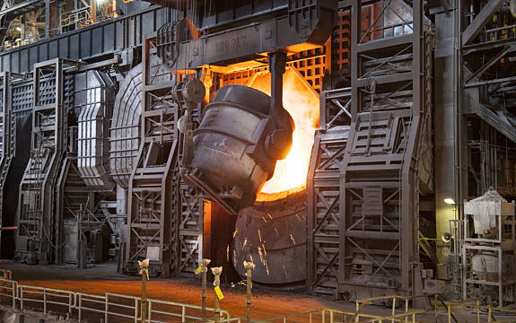 Factory with Smelter