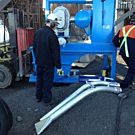 DuroVac Heavy Duty Vacuum On Site