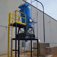 30 hp Industrial Central Vacuum for plastics, composites & PE Dust