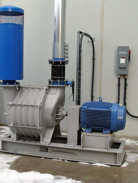 75 HP Industrial Vacuum
