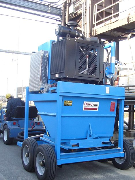 Diesel Industrial Vacuums for Heavy Sand