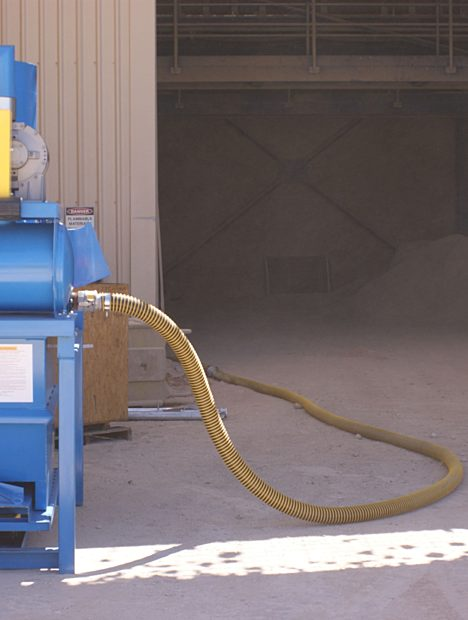 Large Industrial Vacuum for Construction Mats & Brick