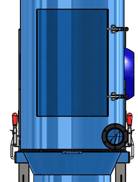 Durovac Industrial Vacuum DVP Front