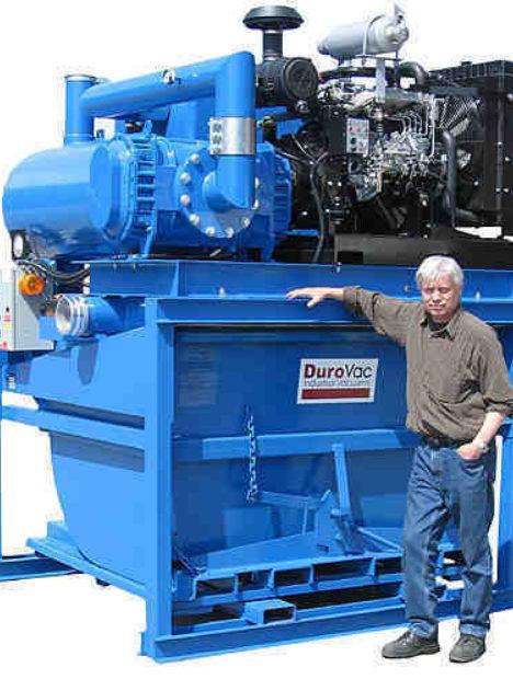 Diesel Industrial Vacuum