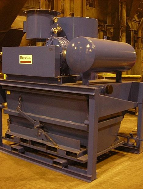 30 hp PowerLift Industrial Vacuum for Primary Metals & Foundry Sand.