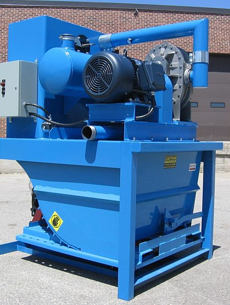 40 hp PowerLift Central Industrial Vacuum - 2008/2013