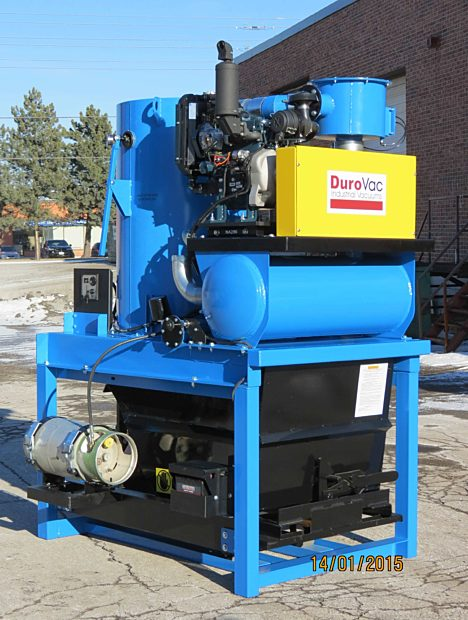 30 hp Propane PLP Industrial Vacuum by DuroVac
