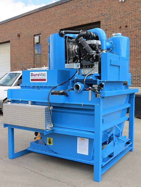 Diesel Powered PowerLift Industrial Vacuum - Early Generation / Model