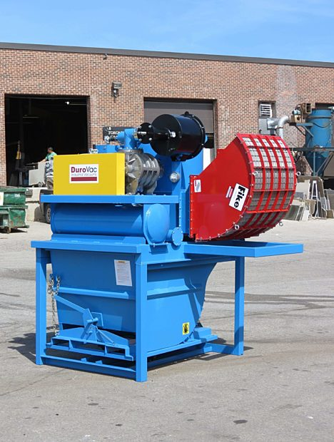 PowerLift Industrial Vacuum with With Fike Flame Quencher