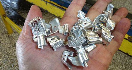 Aluminum Chip Conveying