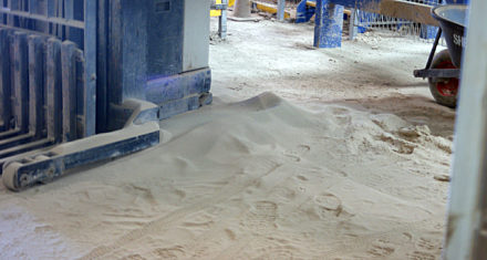 Silica and Core Sand Vacuum