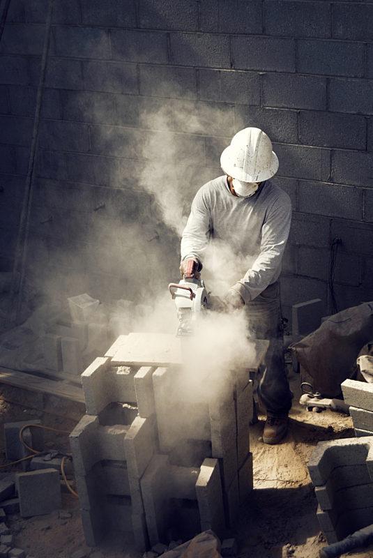 Dusty Job Site