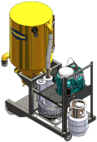 LifeTime Series LTP 85 Industrial Vacuum by DuroVac