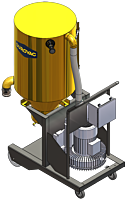 LifeTime Series LTS85 Industrial Vacuum for Silica applications by DuroVac