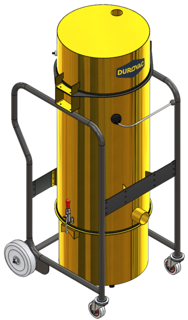 Lifetime Lt 110 Industrial Vacuum system with incredible filtration by DuroVac