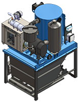 DuroVac PowerLift Diesel Engine Vector Image for Model Page