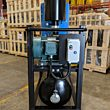 DuroVac's DVP Industrial Vacuum System with a front end view.
