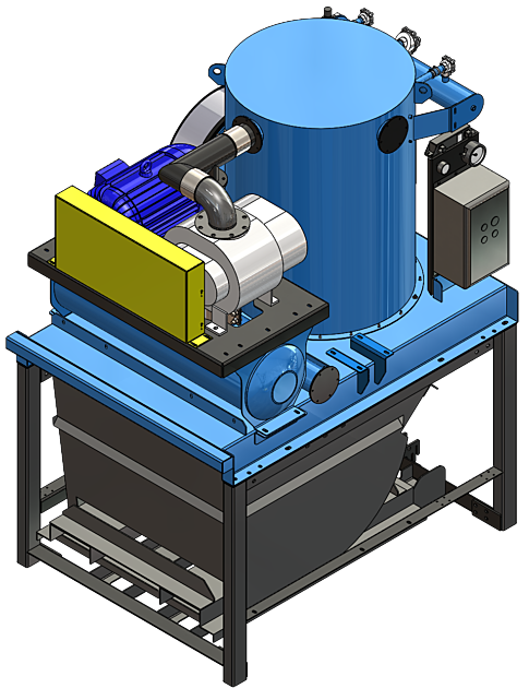 DuroVac PowerLift Electric Motor Vector Image for Model Page