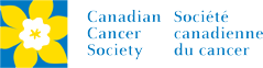 Canadian cancer society charity banner