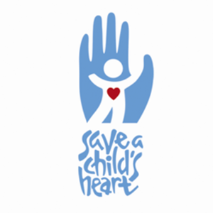 Save a childs hear vertical charity banner