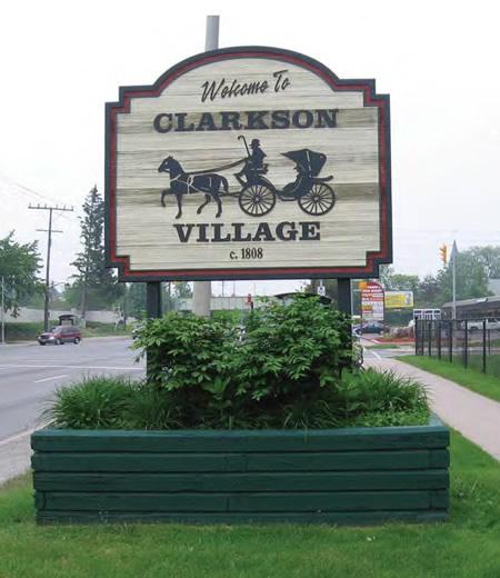 The Clarkson Street Sign