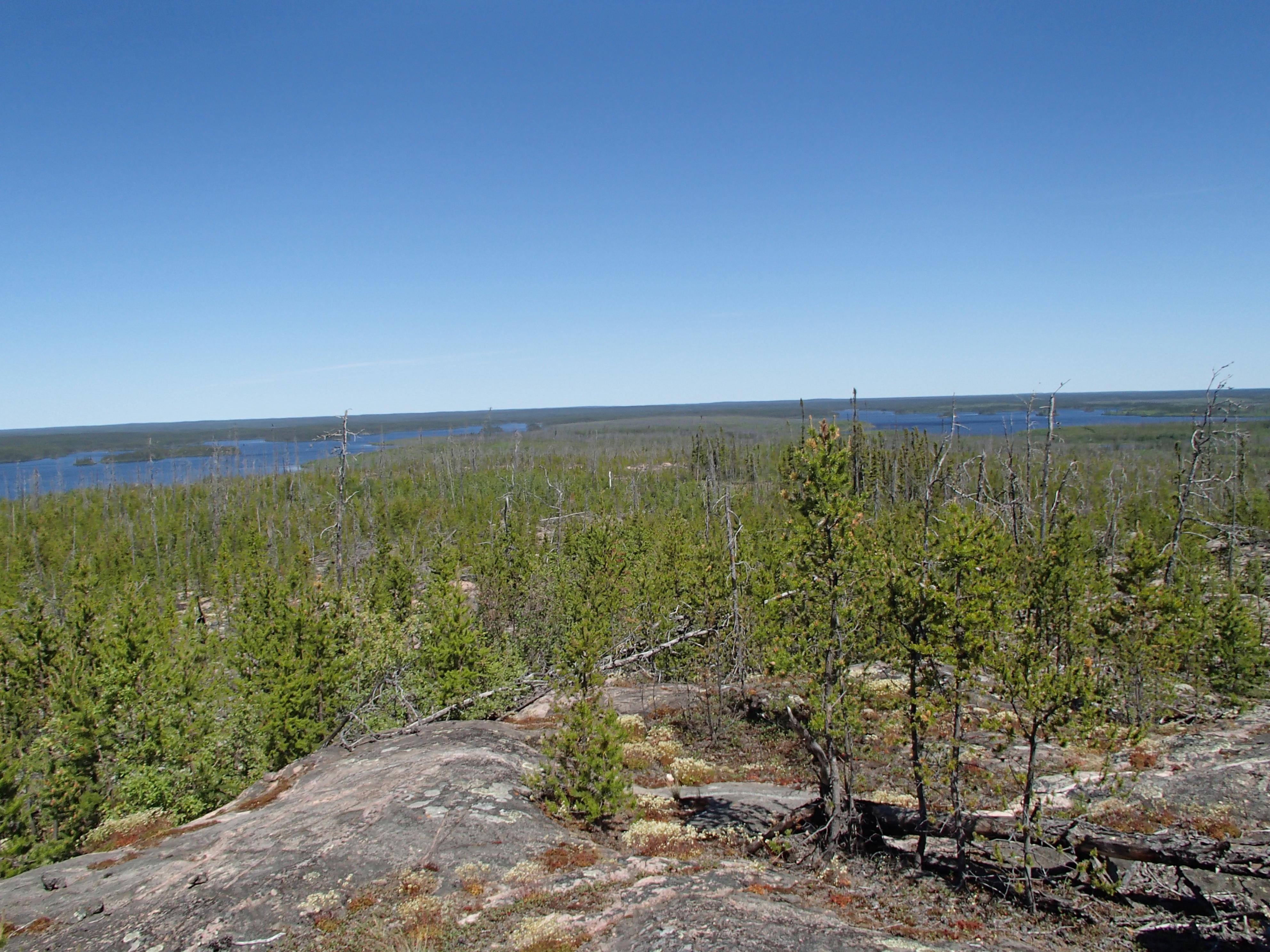 Photo of Granite taken at Southern Indian Lake.