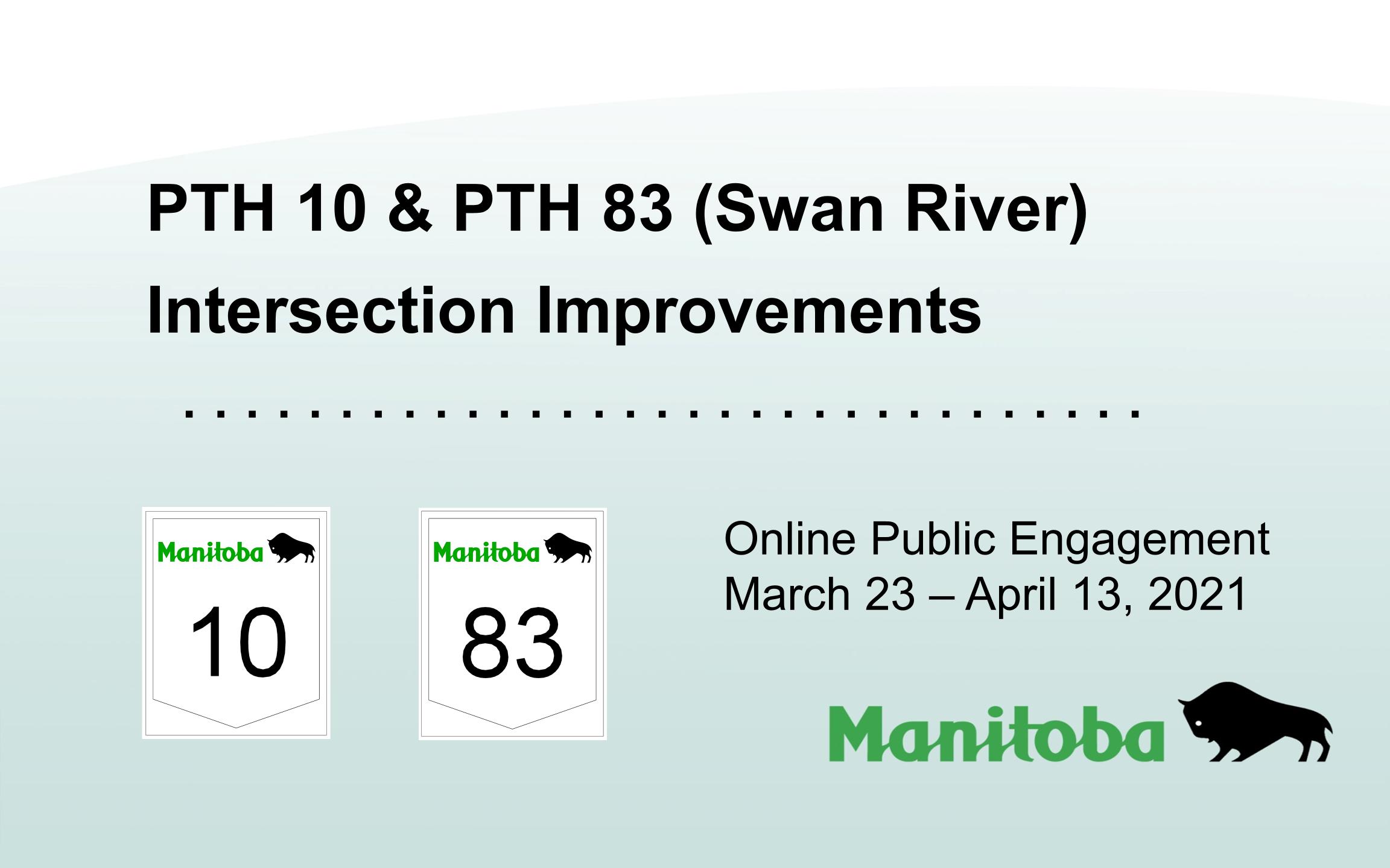 PTH 10_83 Intersection Improvements Public Presentation