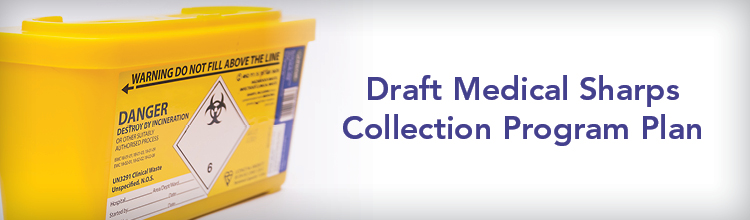 Draft Medical Sharps Collection Program Plan