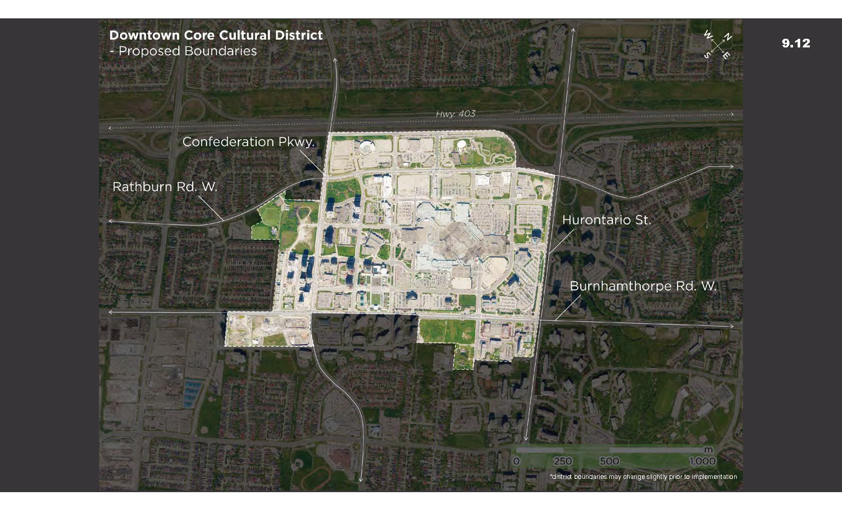 Proposed Downtown Core Boundaries