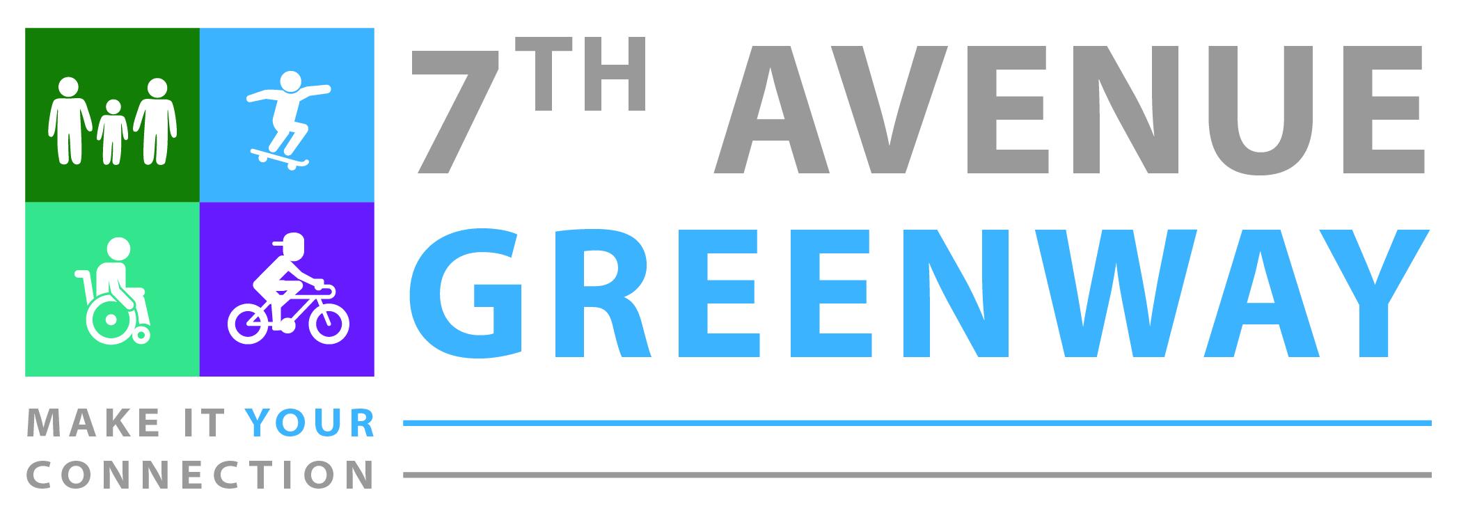 7th Avenue Greenway Logo