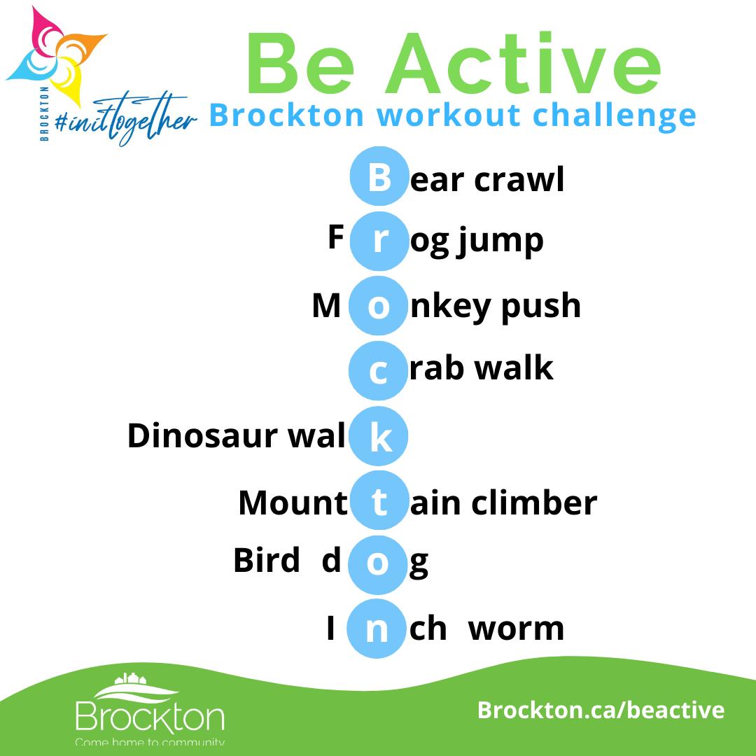 Brockton Workout Challenge