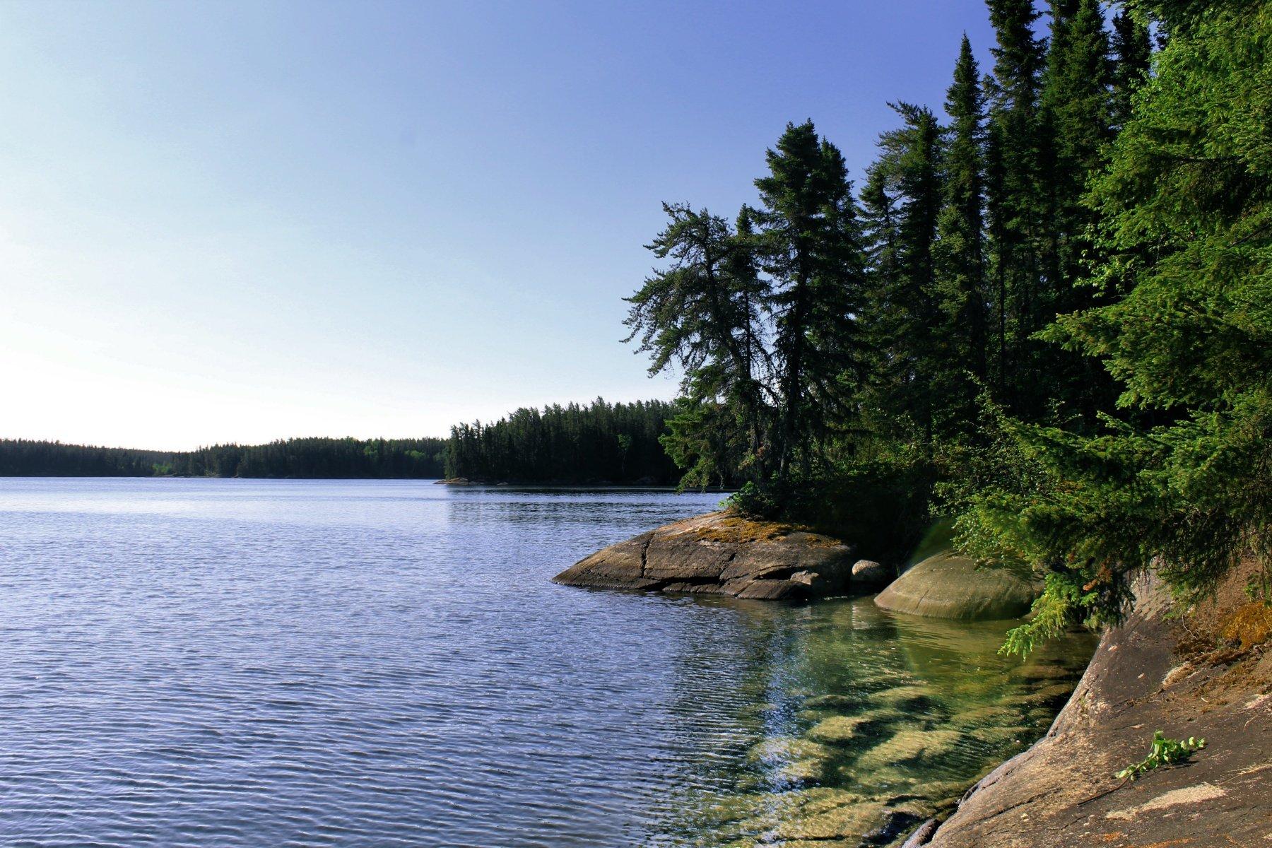Photo of Granite taken at Knight Lake.