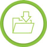Folder with arrow