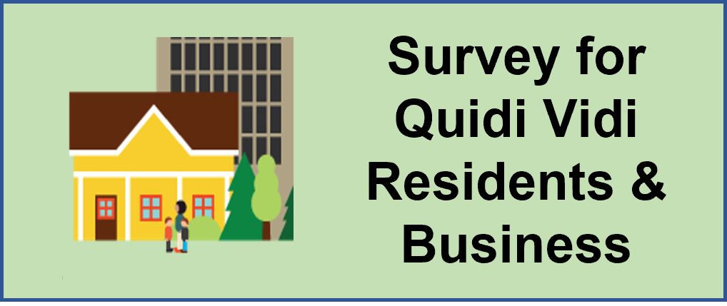 Graphic with link to survey