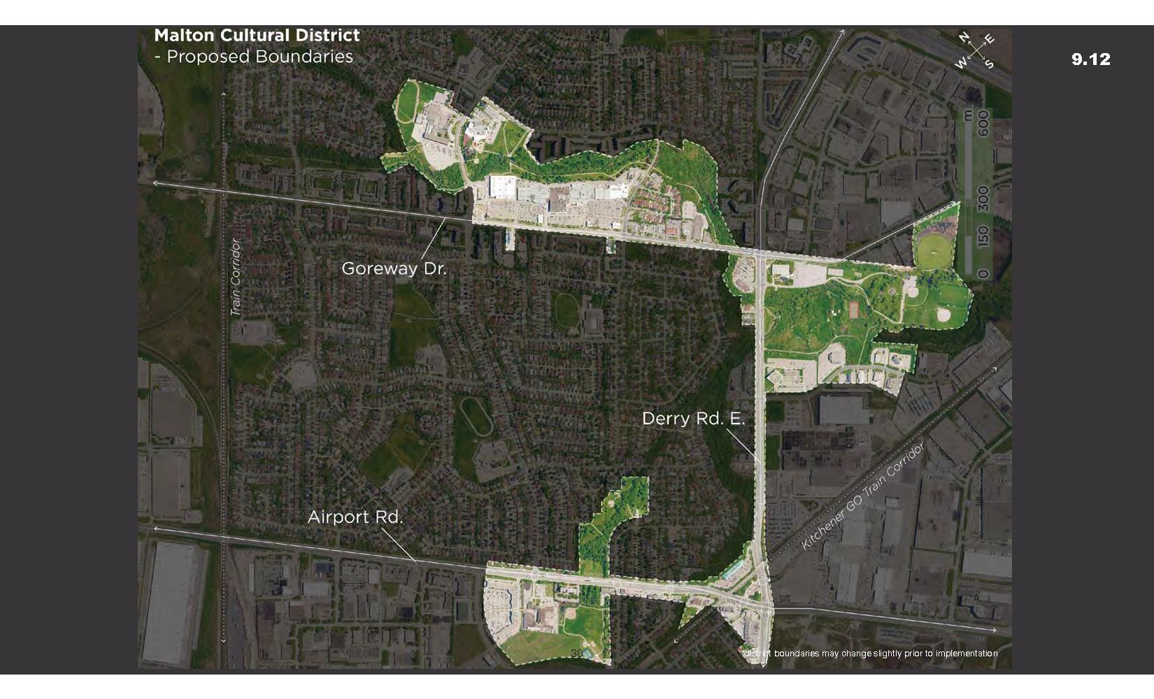 Proposed Malton District Boundaries
