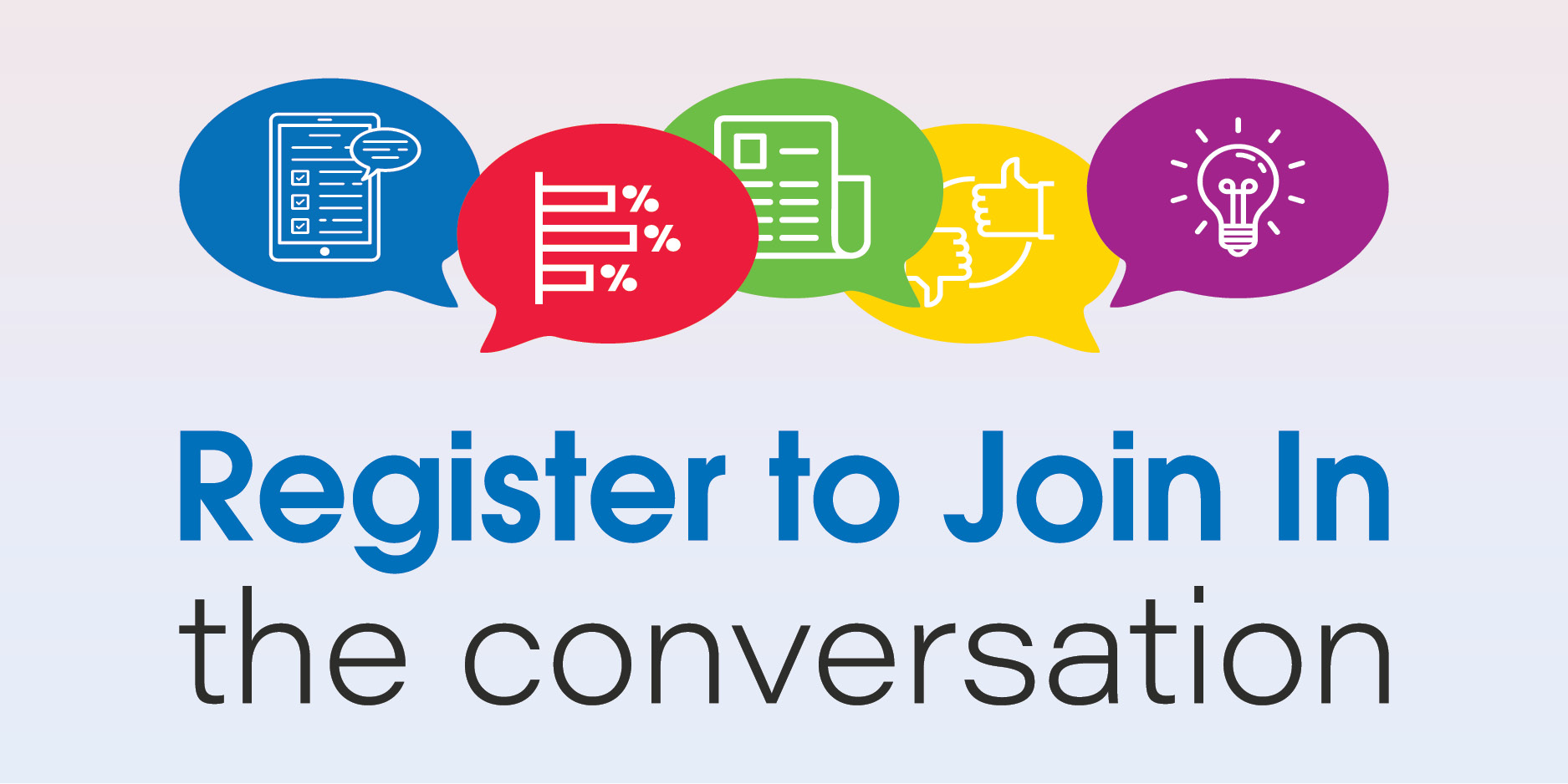 Register to Join In the Conversation