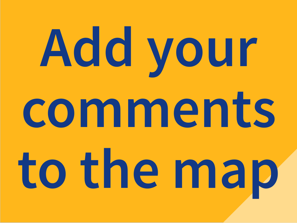 Add your comments to the map