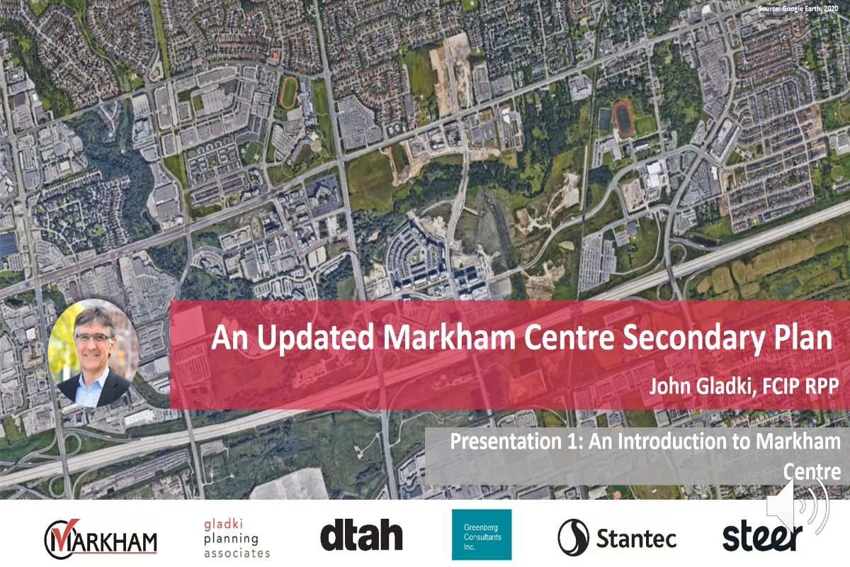 An Introduction to Markham Centre