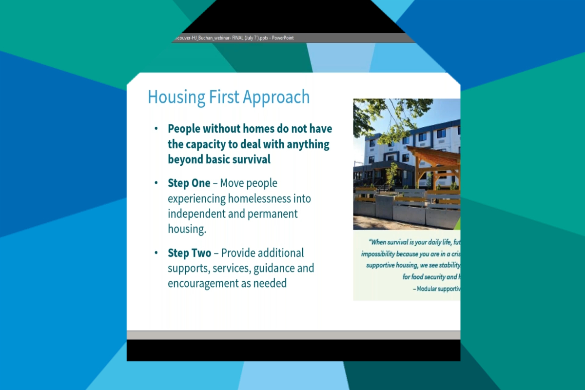 What is the Housing First approach ?