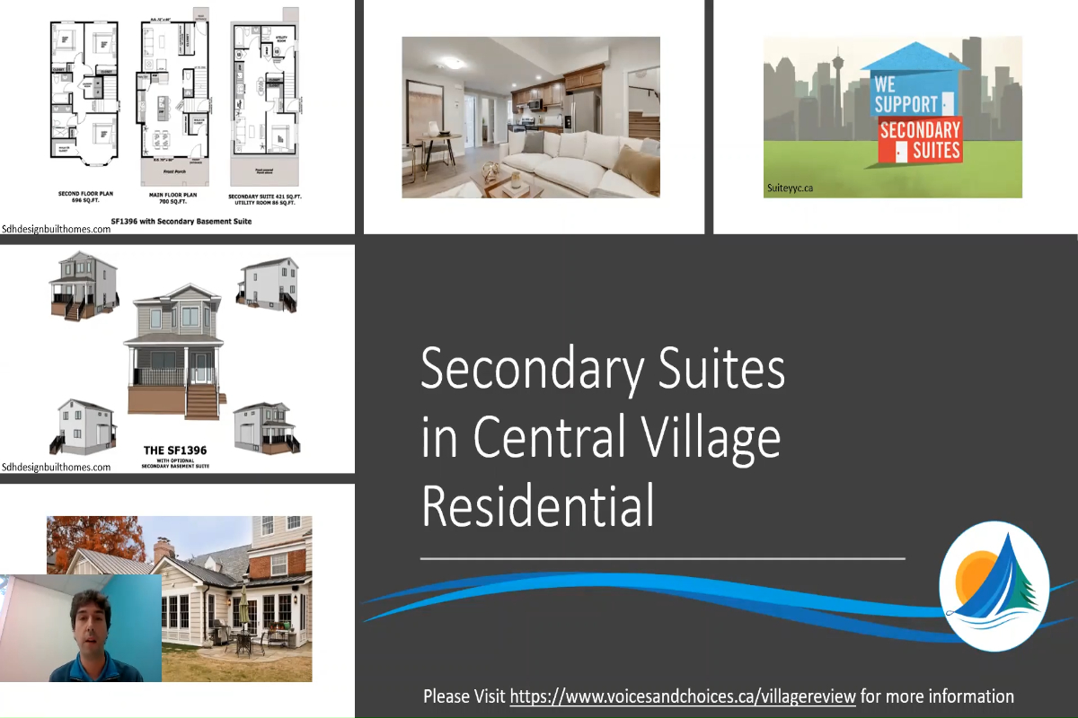 Secondary Suites in Central Village Residential