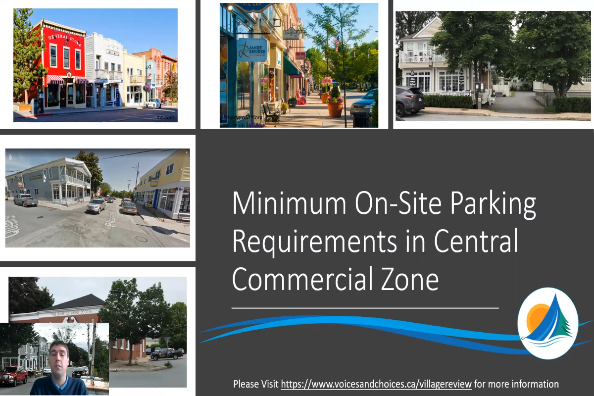 Minimum Parking Requirements in Central Commercial