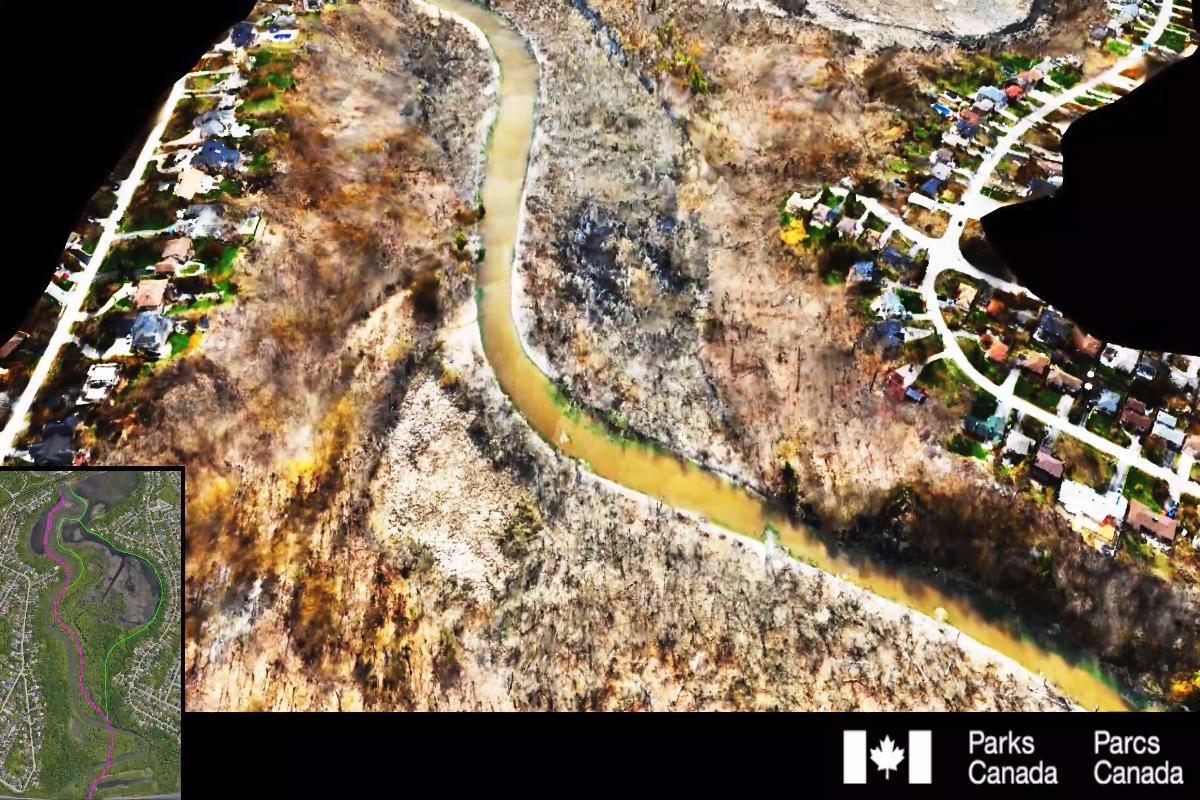 Itinéraire 2 - Traversée de la rive ouest à la rive est