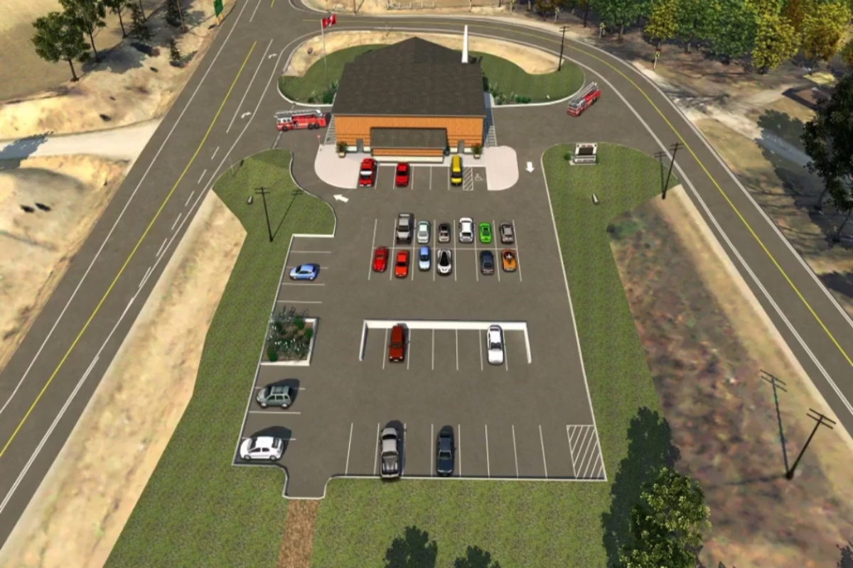 Proposed Port Stanley Fire Station Video