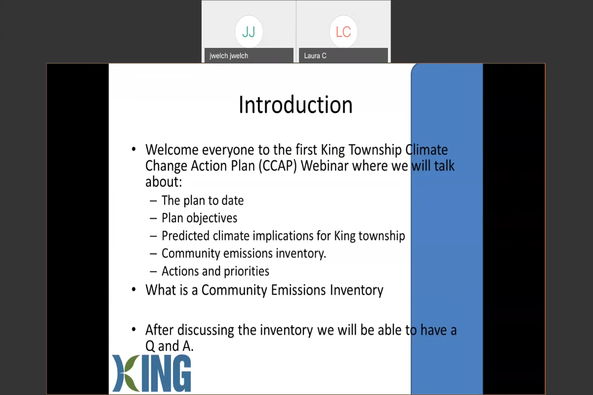 Climate Change Action Plan Webinar 1 Recording