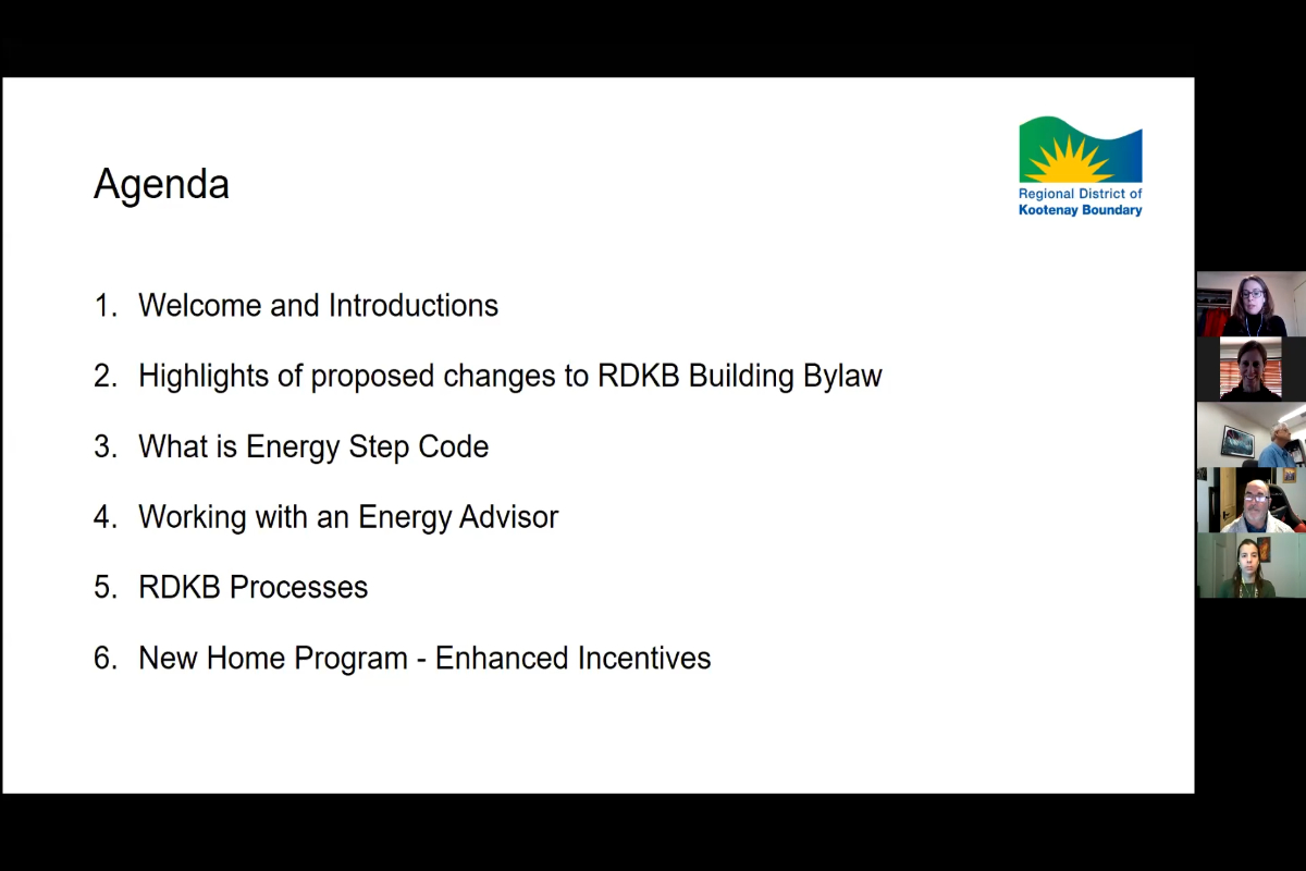 RDKB Webinar - BC Energy Step Code & new Building Bylaw