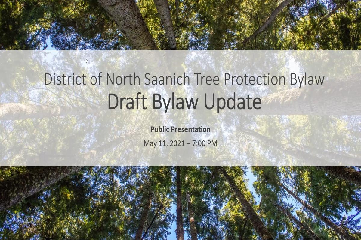 Tree Bylaw Update Presentation