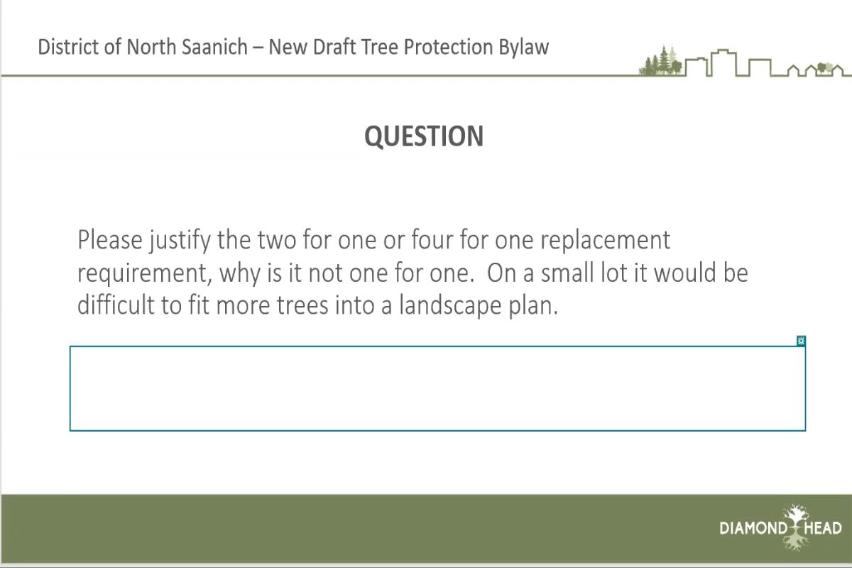 Tree Bylaw Update Q&A
